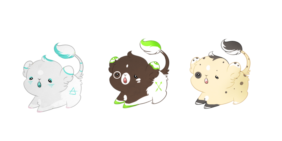 png Transparent lion kawaii. Lions ota closed by