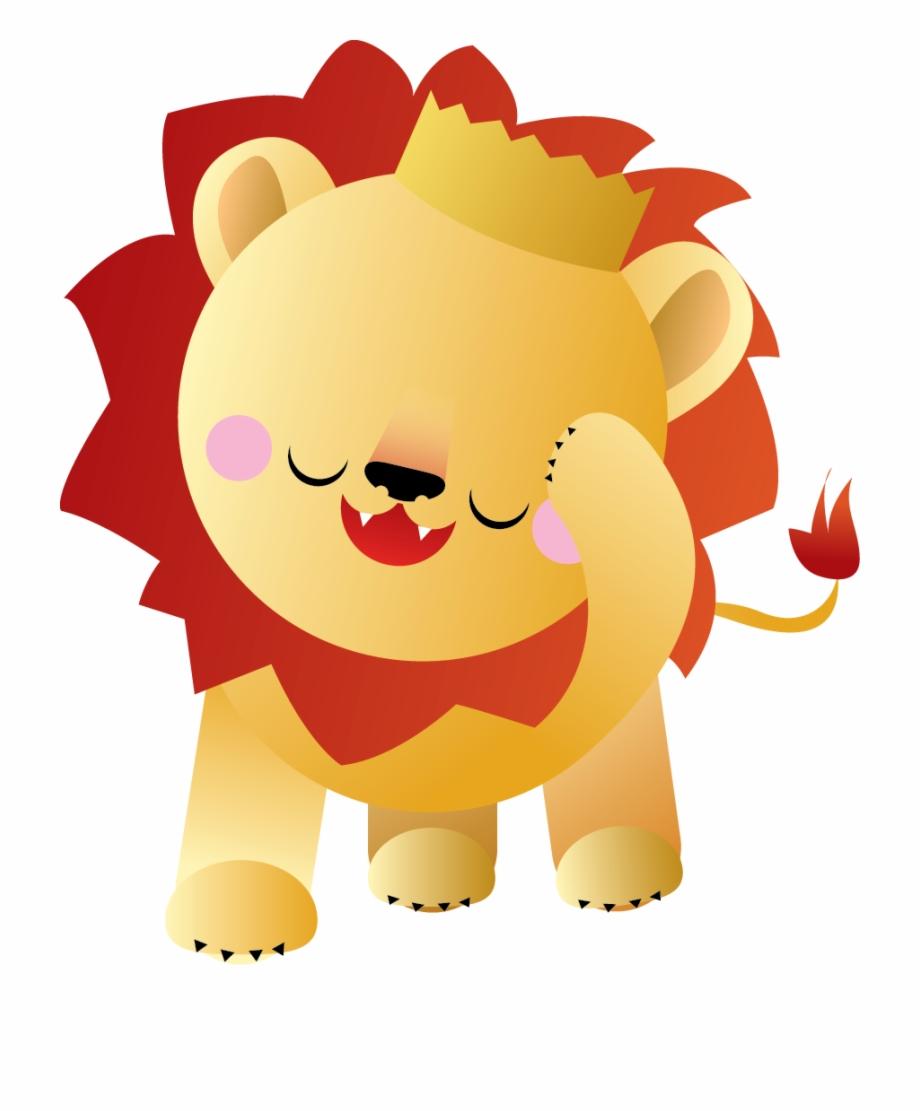 jpg freeuse download Baby png download . Transparent lion kawaii