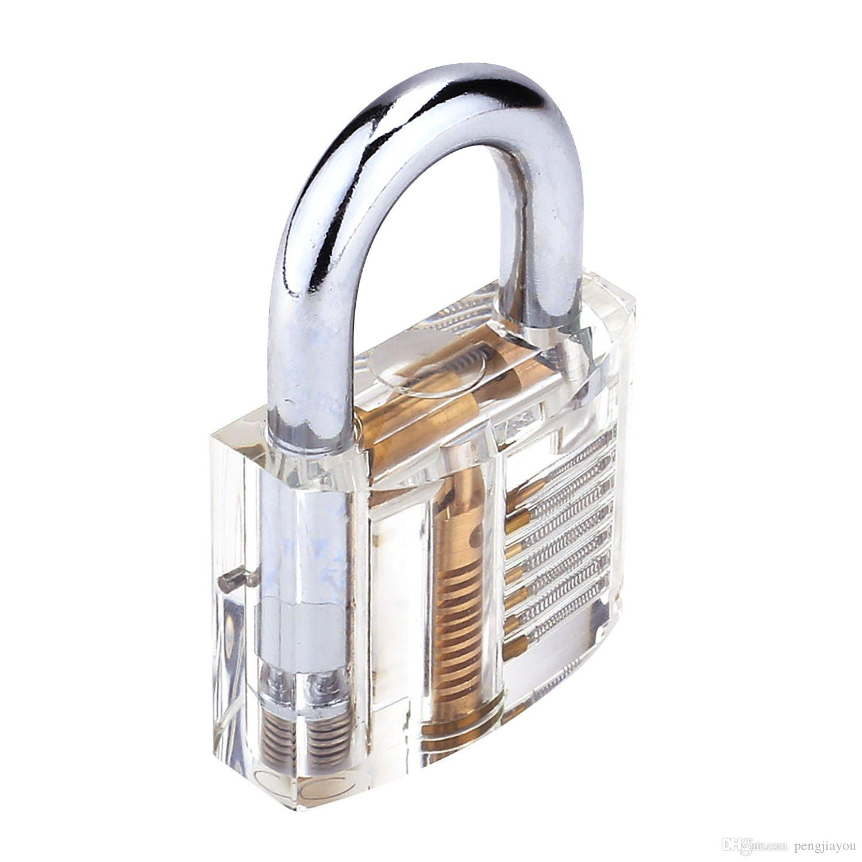 svg freeuse stock Transparent locks. Cutaway visible padlock clear.