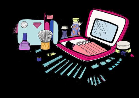 clipart free Makeup Tools