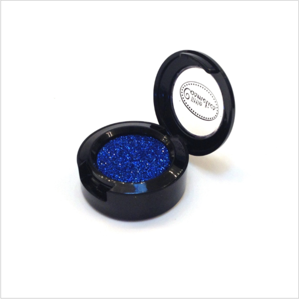 vector Pretend Makeup Cobalt Shimmer Glitter Pot