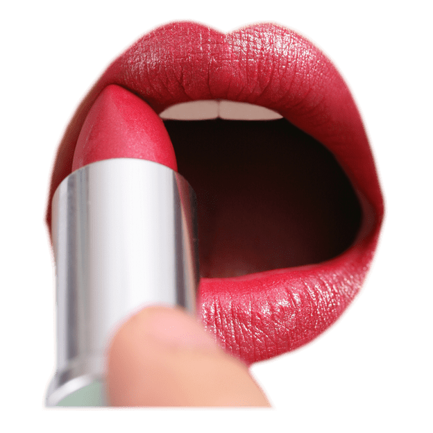 clipart library library Applying lipstick transparent background beauty image