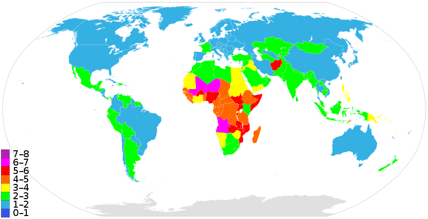 jpg royalty free library Countriesbyfertilityrate list of sovereign. Transparent map kid