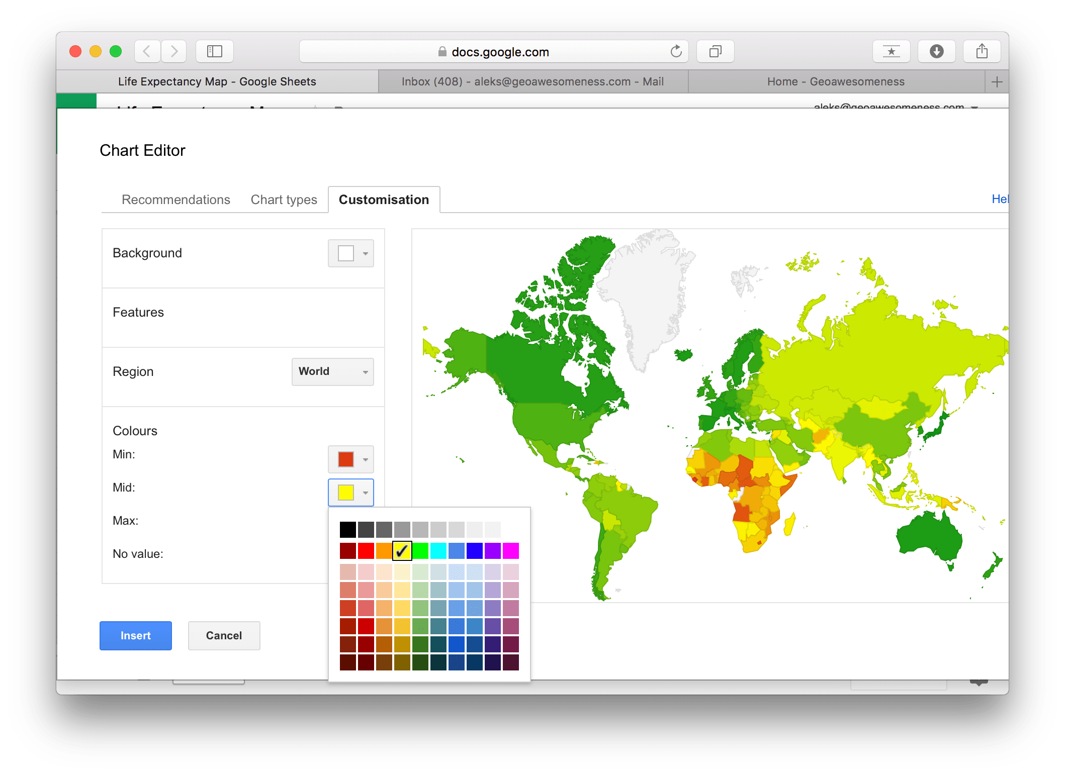 clip free library How to make awesome interactive map using Google Sheets in under