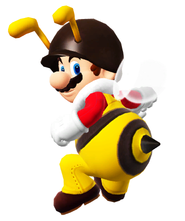 image black and white stock transparent mario bee #106076623