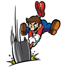 clipart library stock Mario with Hammer