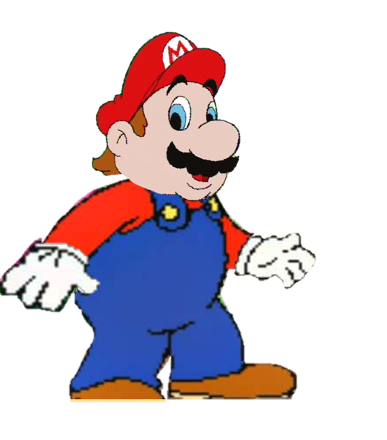 vector download Mario Full body