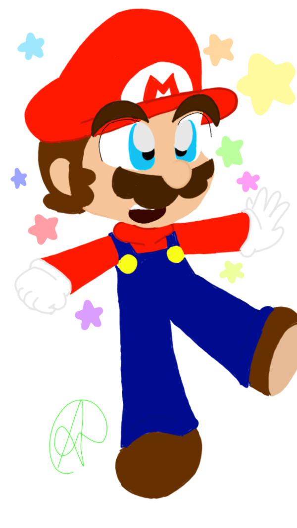 clipart transparent mario kawaii #106072522