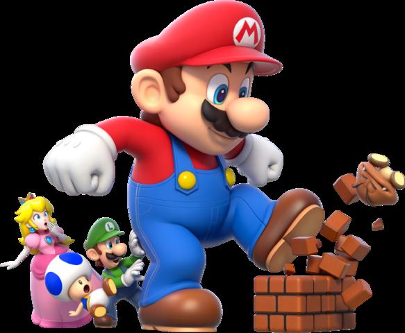freeuse library Mega Mario