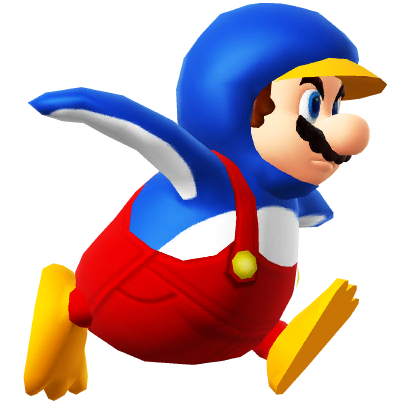clip royalty free transparent mario penguin #106078226