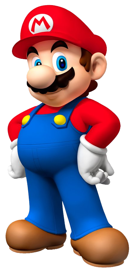 clip free download transparent mario standing #106078933