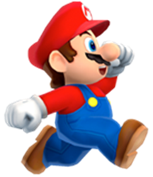 graphic library stock transparent mario walking #106068468