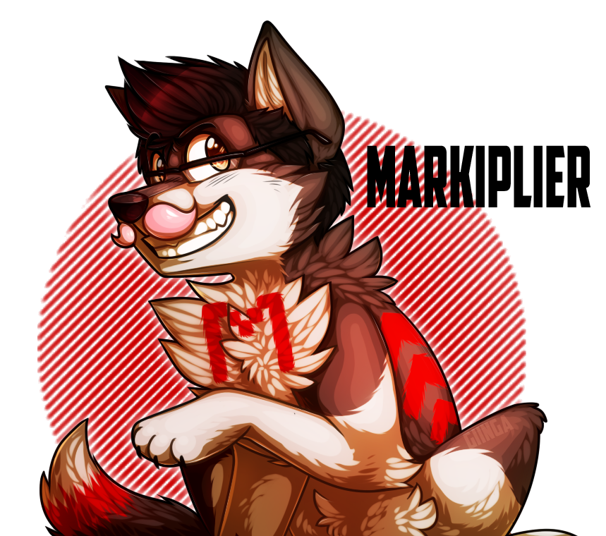 svg transparent stock Markiplier Wolf by giinga on DeviantArt
