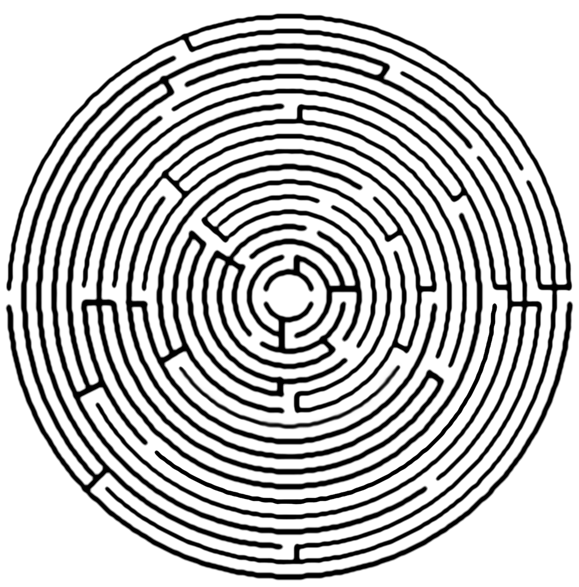 svg library transparent maze circular #117064982
