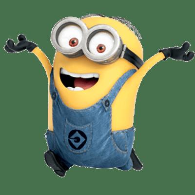 svg library download Clipart happy cute borders. Vector costume minions