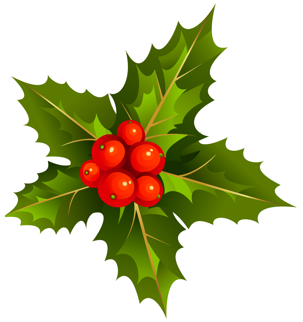 svg download Mistletoe is a tradition for Christmas in many countries