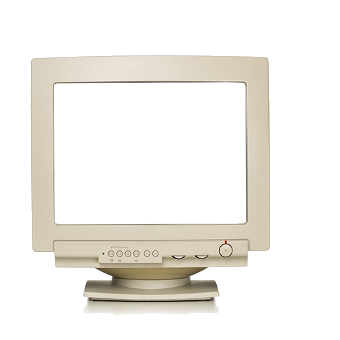 clipart royalty free stock Transparent monitors old. Our history in comtesse