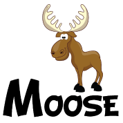 jpg transparent stock Cartoon Moose by Awesome Gifts