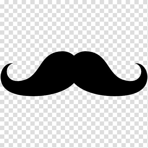 banner royalty free download Transparent moustache. Black mustache illustration desktop.