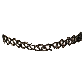 image library library choker transparent neck #110592134