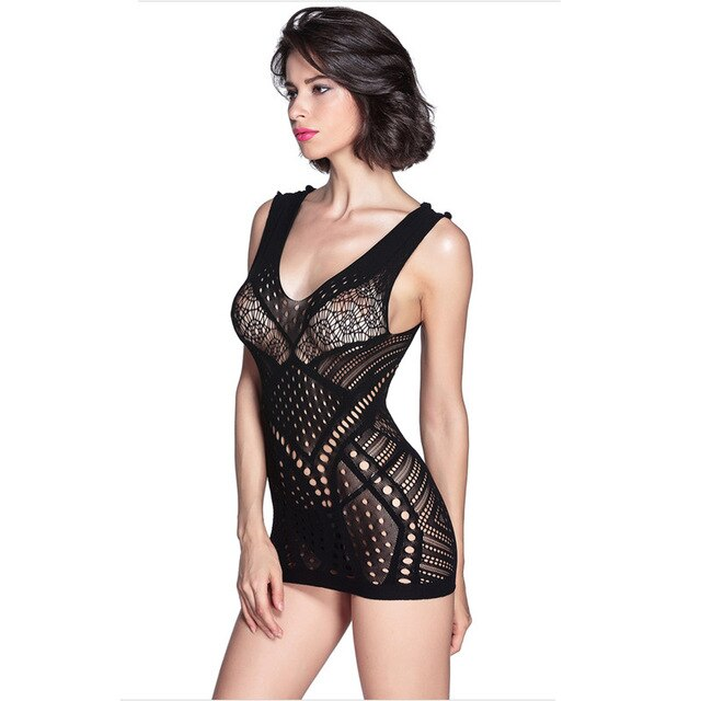 banner royalty free Transparent nightgown party. Baodilang sexy fashion sleepwear