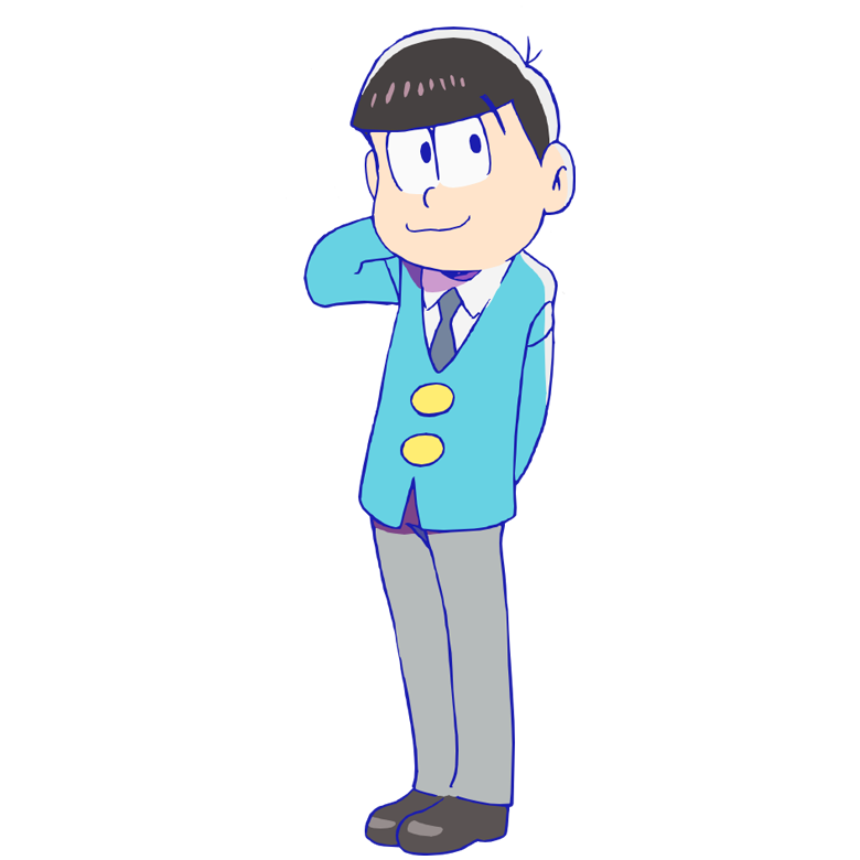 vector black and white download Todomatsu kun wiki fandom. Transparent osomatsu.