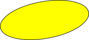 png free library Yellow Oval Clip Art at Clker