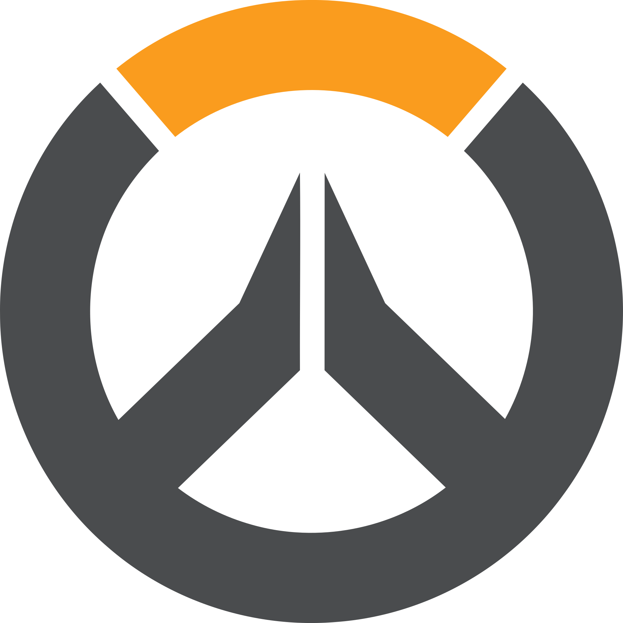 picture library library File overwatch circle logo. Vector emblem round