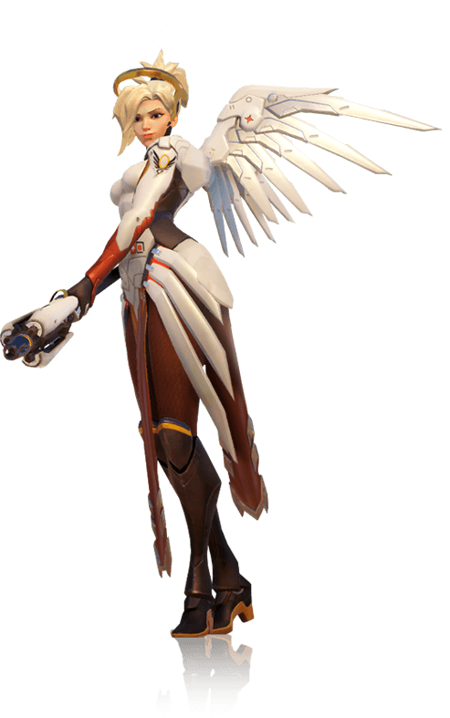 royalty free download transparent mercy overwatch #117075873