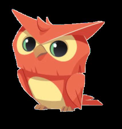 jpg freeuse download Transparent owl animal jam. Image orange png wiki