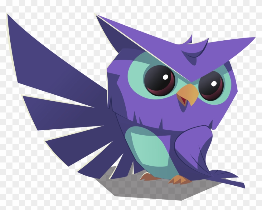 image library stock Transparent owl animal jam. Blue png
