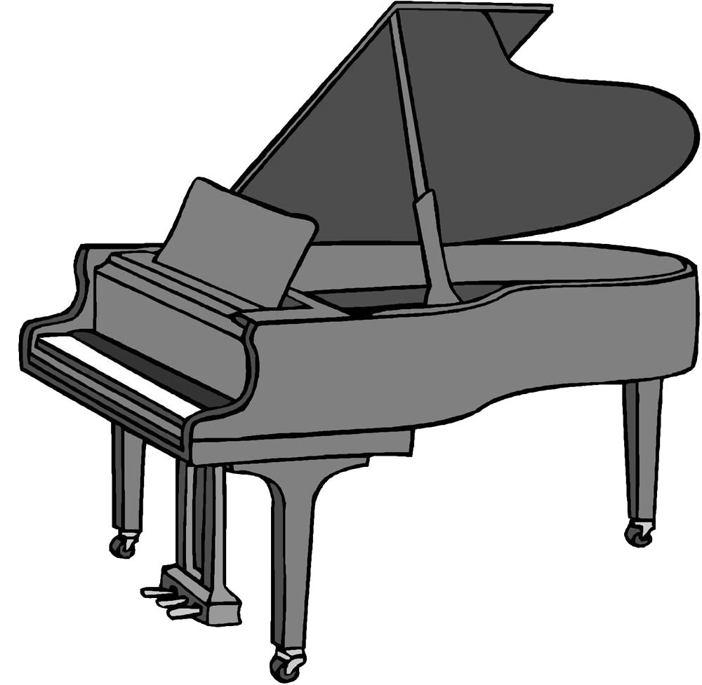 jpg library download Piano Cartoon Drawing Clip art