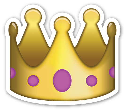 banner transparent stock Emoji Crown Sticker transparent PNG