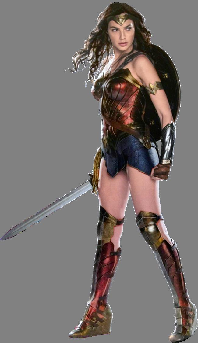 image royalty free stock Wonder Woman Gal Gadot Transparent Background by Gasa
