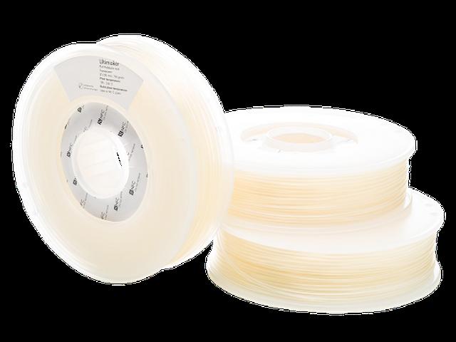 vector black and white Ultimaker Transparent PLA Filament