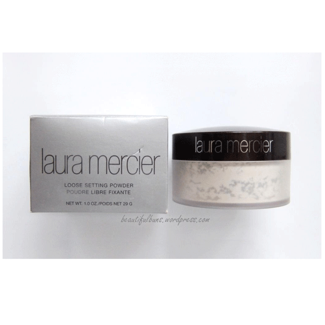 black and white stock Laura Mercier Loose Setting Powder