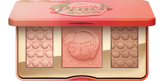 clip art black and white library Sweet Peach Glow Highlighting Palette