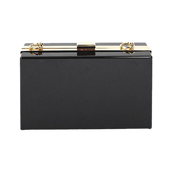 freeuse library Transparent Acrylic Clutch