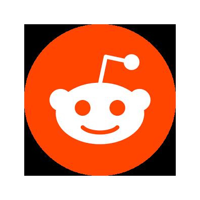 clipart download transparent reddit orange #106382470