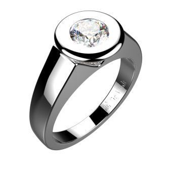 jpg royalty free Platinum gold diamond ring