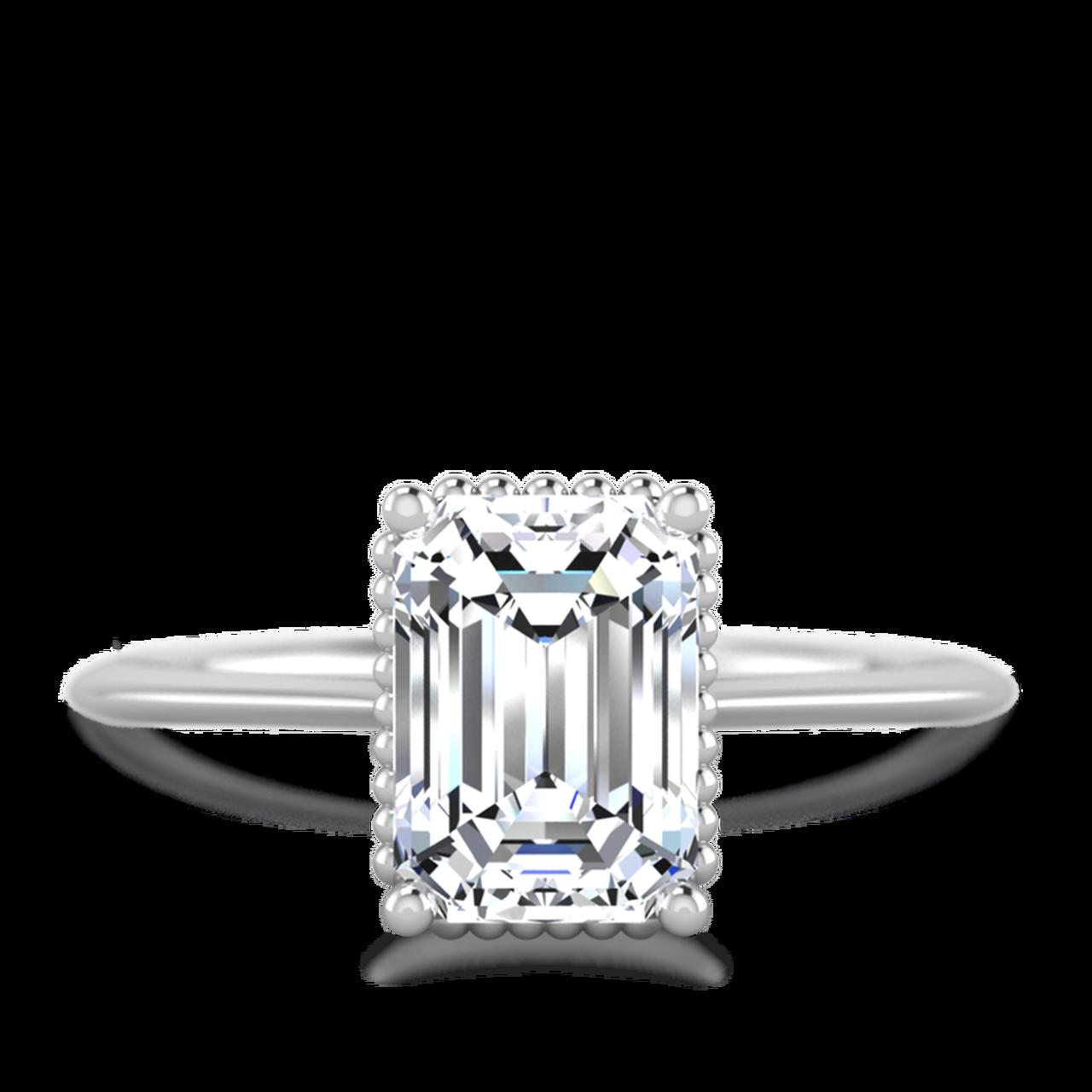vector freeuse stock Callista engagement . Transparent ring emerald cut