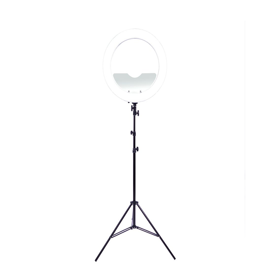 banner free library Transparent ring light. Impressions vanity dimmable led