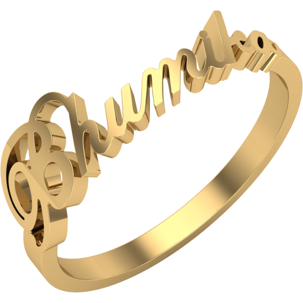 clip art Personalized Name Rings