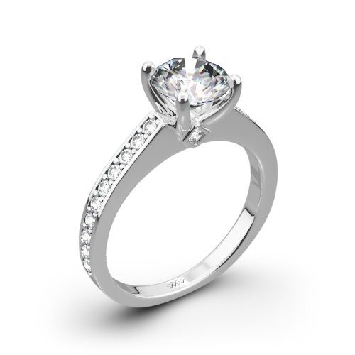 clip royalty free library Scarlet Diamond Engagement Ring