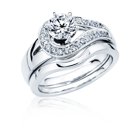 picture freeuse stock Silver Ring Diamond Jewelry transparent PNG