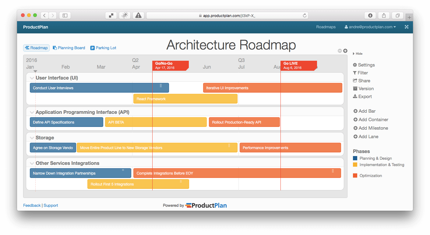 transparent download Three Example Technology Roadmap Templates