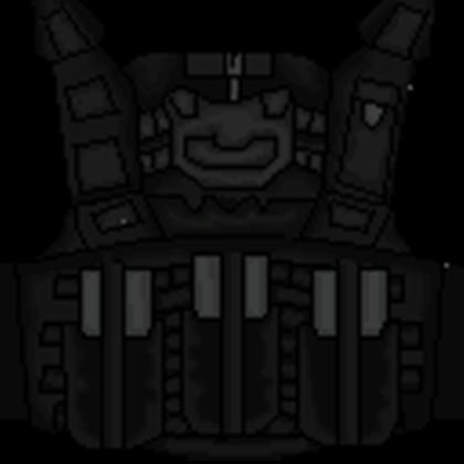 vector library Deluxe Black SWAT Vest