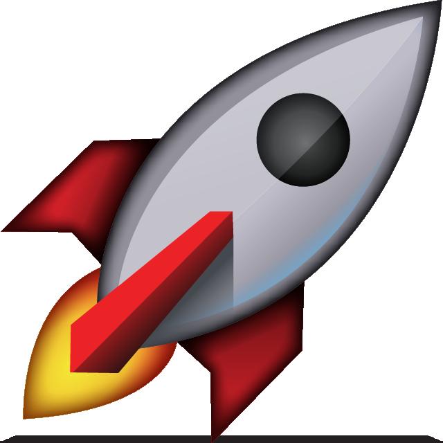 image library stock Download Rocket Emoji Icon