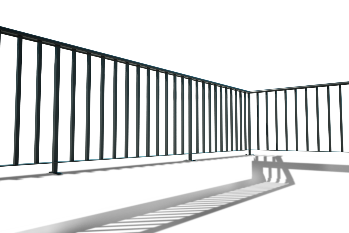 picture royalty free Railings titan forge ltd. Transparent roof terrace.