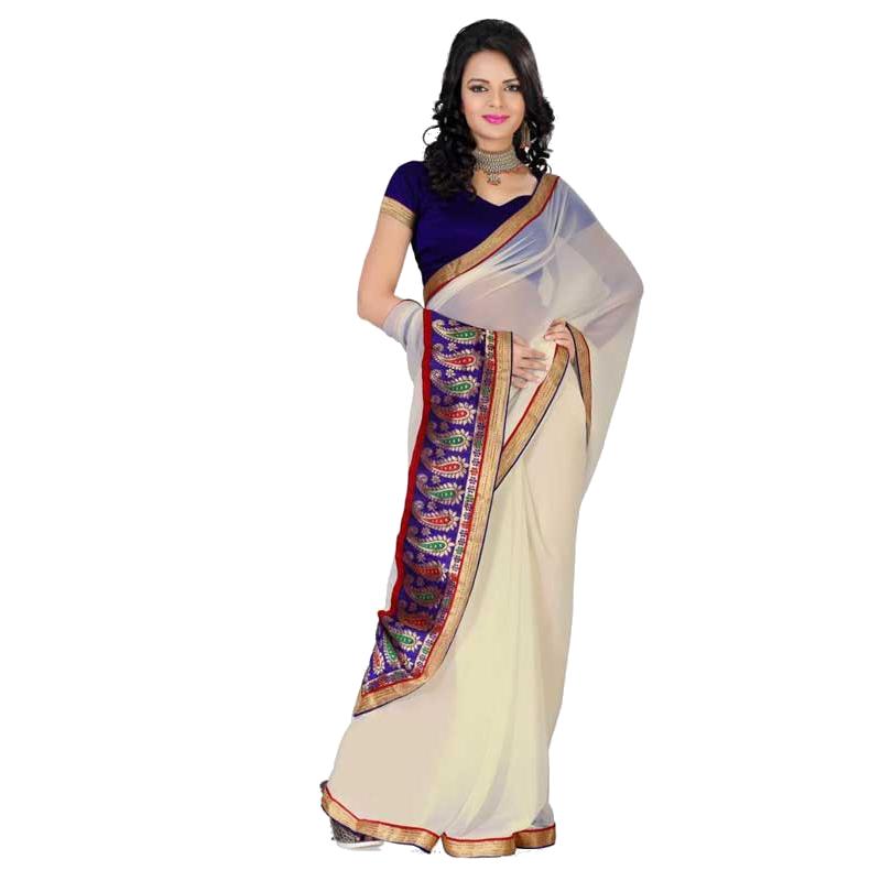 clipart transparent stock Indian model in saree. Transparent saris.